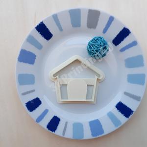 Kutyaház sütikiszúró süteménykiszúró keksz mézeskalács linzer süteményszaggató 3D nyomtatás kutyaól kiszúró forma (3DPrinting4U) - Meska.hu