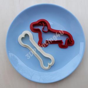 Kutya sütikiszúró szett 2db kutya csont süteményszaggató forma mézeskalács keksz 3D nyomtatás eb kutyacsont kiszúró, Férfiaknak, Konyhafőnök kellékei, Kulinária (élelmiszer), Otthon & lakás, Konyhafelszerelés, Fotó, grafika, rajz, illusztráció, Mézeskalácssütés, Kutyusunk most csonttal együtt keresi gazdáját :-) A formák saját tervek alapján készültek, 3D nyomt..., Meska