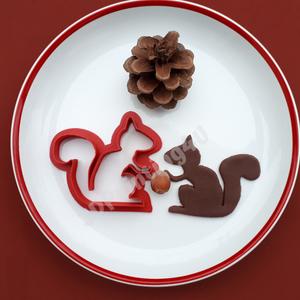 Misi a Mókus sütikiszúró süteményszaggató mézeskalács keksz linzer süteménykiszúró 3D nyomtatás forma kiszúró, Sütikiszúró, Konyhafelszerelés, Otthon & Lakás, Mézeskalácssütés, Mindenmás, Misi a Mókus nem csak fára mászni, és mogyorót enni szeret, hanem még süteményt sütni is. :-) A vele..., Meska
