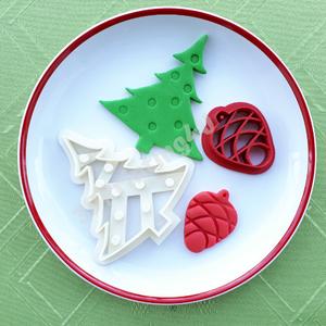 Karácsony sütikiszúró szett 2 db süteménykiszúró linzer keksz mézeskalács 3D nyomtatás kiszúró karácsonyfa fenyőtoboz, Férfiaknak, Konyhafőnök kellékei, Kulinária (élelmiszer), Édességek, Otthon & lakás, Konyhafelszerelés, Fotó, grafika, rajz, illusztráció, Mézeskalácssütés, Karácsony sütikiszúró szett 2db, melyben egy karácsonyfa és egy fenyőtoboz forma együtt vásárolhatók..., Meska