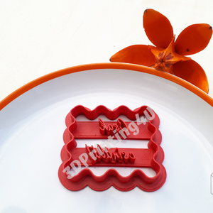 Csak csináld! feliratú kekszkiszúró süteménykiszúró felirat linzer 3D nyomtatás kiszúró sütikiszúró marcipánbenyomó (3DPrinting4U) - Meska.hu