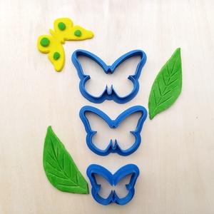 Lepke pillangó sütikiszúró szett süteménykiszúró keksz linzer mézeskalács süteményszaggató kiszúró forma - otthon & lakás - konyhafelszerelés - sütikiszúró - Meska.hu