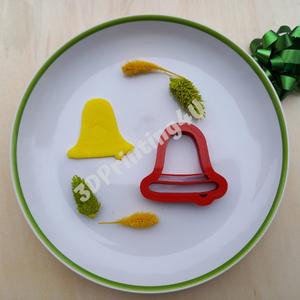 Harang sütikiszúró mézeskalács linzer süteménykiszúró keksz 3D nyomtatás karácsony sütikiszúró kekszforma kiszúró forma, Élelmiszer, Édesség, Fotó, grafika, rajz, illusztráció, Mézeskalácssütés, Képzeld csak el, hogy az ünnepi asztalon milyen jól fognak mutatni a harang alakú sütemények. Ne csa..., Meska