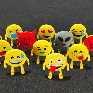 Láb-Emotikinok vagy Álló emotikonok, vicces karakterek, Otthon & Lakás, Dekoráció, Asztaldísz, Mindenmás, Álló vagy Láb-Emotikinok! \nAjándékozd meg ismerősödet egy vagy több 3D nyomtatott álló emotikonnal! ..., Meska