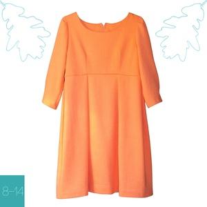 Barack színű lányka ruha, Szoknya, Babaruha & Gyerekruha, Ruha & Divat, Varrás, Csodálatos barack színű, egyedi tervezésű ruhád tökéletes választás, ha el is bújik a nap :-)\n\nAjánl..., Meska