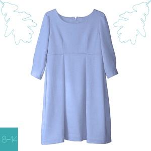 Kék színű pamut lányka ruha, Szoknya, Babaruha & Gyerekruha, Ruha & Divat, Varrás, Egyedi tervezésű ruhád csodás kék színével tökéletes választás a hűvösebb napokra is.\n\nAjánljuk külö..., Meska