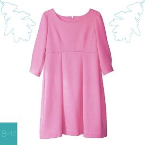 Kasmír rózsa színű lányka ruha (814GIRL) - Meska.hu