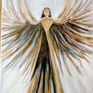 Akril festmény, Művészet, Festmény, Akril, 23,5 cm X 29,5 cm-es akril festmény feszített vászonra, Meska