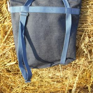 virágos kékség 4 in 1 hátizsák (adazsom) - Meska.hu