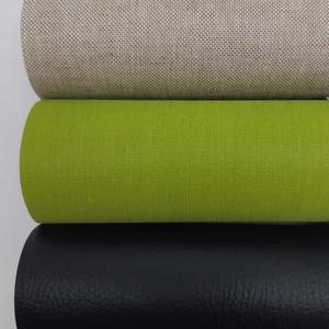 Natúr-zöld-fekete öntapadó anyagok csomagban, Vegyes alapanyag, Textil, Natúr-zöld-fekete öntapadó anyagok csomagban  Készíts te is saját kézzel noteszeket, albumokat! Pers..., Meska