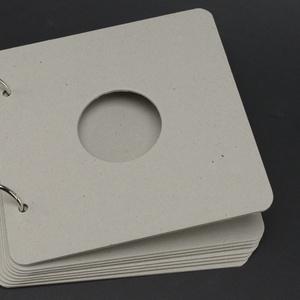 8 lapos ALBUM alap 1,5 mm vastag lemezből, Díszíthető tárgyak, Decoupage, szalvétatechnika, Papírművészet, Grafika, fotó, Négyzet alakú ALBUM ALAP\n\nAz album 8 db 1,5 mm vastag, lekerekített sarkú szürkelemez lapból áll.\nA ..., Meska