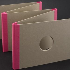LEPORELLÓ könyv alap, A5-ös méret, Díszíthető tárgyak, Decoupage, szalvétatechnika, Papírművészet, Grafika, fotó, 10 oldalas, A5-ös LEPORELLÓ könyv alap\n\nA leporelló könyv 5db, 2mm vastag, A5-ös lemezből készült, a..., Meska