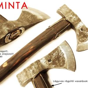 Kovácsolt acél bushcraft balta kemény acél éllel, edzett fokkal, [F_09a] (adithiel) - Meska.hu