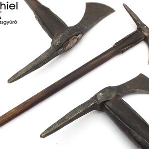 Nyelezett kovácsolt acél székely fokos, rövid, égetett és olajozott tölgyfa nyéllel , [FN_03a], Képzőművészet, Otthon & lakás, Férfiaknak, Kovácsoltvas, [FN_03a]\n=== Nyelezett kovácsolt acél székely fokos, rövid, égetett és olajozott tölgyfa nyéllel ===..., Meska