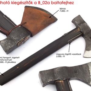 Kovácsolt acél buschraft balta, [B_02a] (adithiel) - Meska.hu