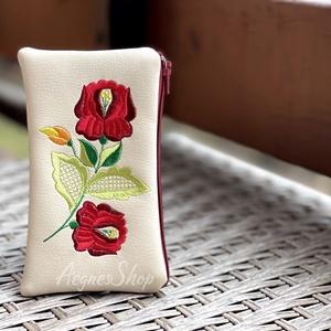 Bármitartó , Táska & Tok, Pénztárca & Más tok, Textilbőrből készült bármitartó. Természetesen használhatod akár kártyatartónak, pénztárcának...vagy..., Meska