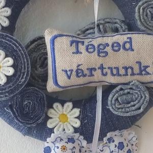 vintage farmer ajtódísz (afoltonkep) - Meska.hu