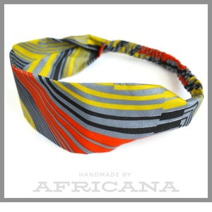 Afrikai mintájú , sárga/fekete/ piros  színű csíkos  textil női hajpánt, fejpánt, autentikus afrikai textiliából, Táska, Divat & Szépség, Ruha, divat, Hajbavaló, Hajpánt, Varrás, Nagy rajongója vagyok az afrikai stílusú textíliáknak , pompázatos színük, jellegzetes  mintájuk sem..., Meska