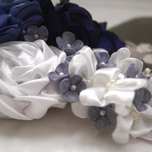 Orgona lila  menyasszonyi öv (Aggies) - Meska.hu