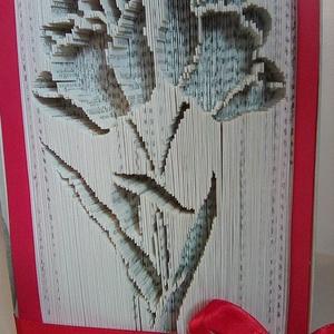 """Virágok, Művészet, Más művészeti ág, Aki a virágot szereti, rossz ember nem lehet. A""""Virágok"""" egyedi tervezésű könyvszobor. Kiváló és idő..., Meska"""