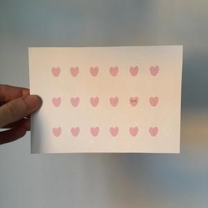 • szivecskés • képeslap, Dekoráció, Otthon & lakás, Lakberendezés, Naptár, képeslap, album, Fotó, grafika, rajz, illusztráció, • szivecskés • képeslap\n\nA6 (105x148 mm) méretű képeslap 300 g-os, újrahasznosított papírra nyomtatv..., Meska