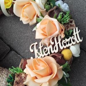 MÉHECSKE tavaszi-virágos-színes asztaldísz, dísz, dekoráció NÉVNAPRA ÉS SZÜLINAPRA - otthon & lakás - dekoráció - asztaldísz - Meska.hu