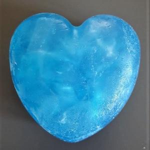 Uniszex hűsítő glicerin szappan, Táska, Divat & Szépség, Szépség(ápolás), Krém, szappan, dezodor, Férfiaknak, Borotva, szappan, pipere, Szappankészítés, Glicerines uniszex szappan szappanalapból, kevés kék szappanszínezékkel, óceán illattal, pici citrom..., Meska