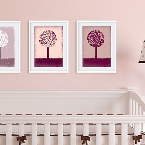 Babaszoba, gyerekszoba dekoráció falikép szett -3 kép -tavaszi, téli, nyári fa- A4 illusztráció, Képzőművészet, Otthon & lakás, Illusztráció, Gyerek & játék, Gyerekszoba, Fotó, grafika, rajz, illusztráció, Újrahasznosított alapanyagból készült termékek, Az évszakos sorozat 3 darabját szettben megvásárolhatod. A téli, tavaszi és nyári fát ábrázoló fali ..., Meska
