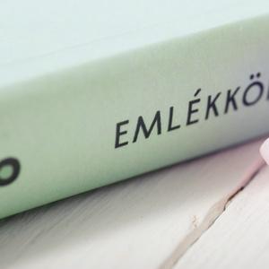 Elegáns, egyedi esküvői, eljegyzési emlékkönyv, vendégkönyv, napló kékeszöld-kék színekben (agnescor) - Meska.hu