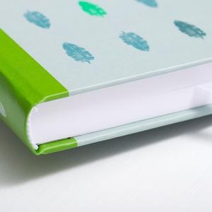 Receptkönyv, receptfüzet - egyedi tervezésű, illusztrált, kemény borítós könyv zsályalevelekkel lila, szürke színek (agnescor) - Meska.hu