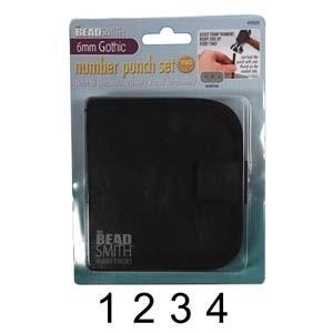 Számbeütő készlet 6  mm es Beadsmith, Szerszámok, eszközök, Egyéb szerszám, eszköz, Fémmegmunkálás, ötvösség, Számok BeadSmith készlet tokban 6 mm es Gothic stílus\n0-9-ig,\n9db-os szám beütő készlet (a 6-os és a..., Meska