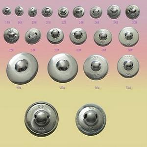 Bevonható, behúzható gomb 32 12db/cs - gomb - fém gomb - Meska.hu