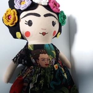 Frida Kahlo mexikói  textilbaba (agotamama) - Meska.hu