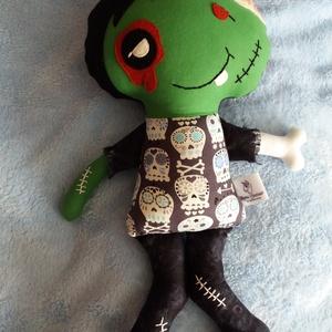 Zombi fiú textilbaba (agotamama) - Meska.hu