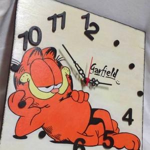Garfield falióra (aKataArt) - Meska.hu
