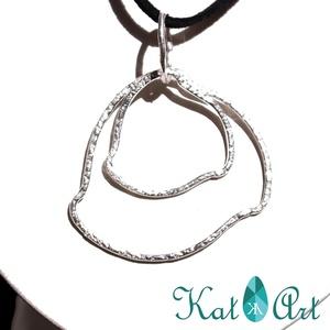 Amorf karkikák ezüstből, Ékszer, Medálos nyaklánc, Nyaklánc, Fémmegmunkálás, Ötvös, Meska