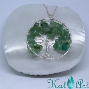 Csináld magad ezüst életfa medál csomag - diy (csináld magad) - egységcsomag - Meska.hu