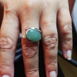 Jade gyűrű, Ékszer, Szoliter gyűrű, Gyűrű, Ékszerkészítés, Ötvös, Meska