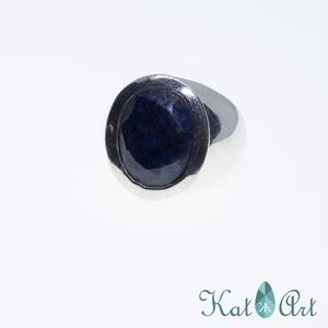 Ezüst gyűrű, Ékszer, Gyűrű, Ékszerkészítés, Ötvös, Mérete 55-ös., Meska