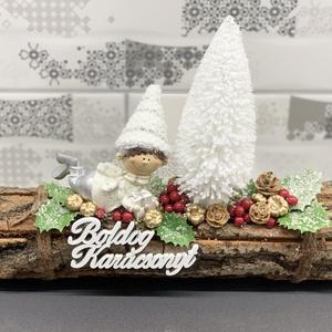 Mohó manó karácsonyi asztaldísz - dekoráció (AKezmuvescsodak) - Meska.hu
