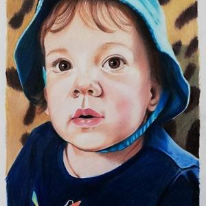 Portré rajzolás, Portré, Portré & Karikatúra, Művészet, Fotó, grafika, rajz, illusztráció, Fotó alapján graffit, illetve színes ceruza portrék készítését vállalom. \nPortréimat kiváló minőségű..., Meska