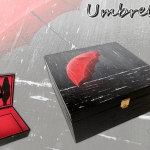 Festett fadoboz Umbrella - Meska.hu