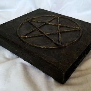 Gyűrűs mappa - Pentagram - Meska.hu