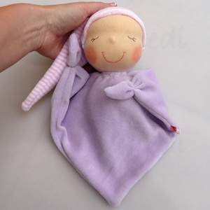Mini rongyi baba- lila (Aledi) - Meska.hu