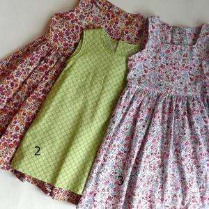 Újdonság!- Waldorf baba, és azonos anyagból készült kislány ruha- kék, 110-s (Aledi) - Meska.hu
