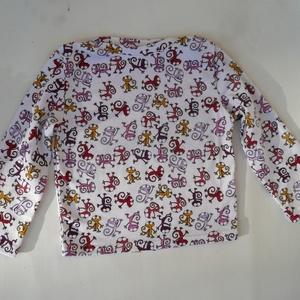 Waldorf baba és azonos anyagból készült kisfiú póló- gyíkos, 98-s (Aledi) - Meska.hu