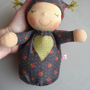 Mini alvó bébi- szürke (Aledi) - Meska.hu