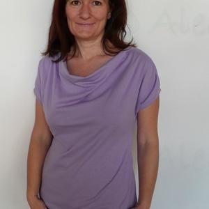 Lila póló (Aledi) - Meska.hu