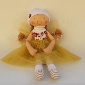 Angyalmanó baba- fehér sapkás (Aledi) - Meska.hu