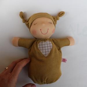 Alvó bébi Waldorf baba- mustár (Aledi) - Meska.hu